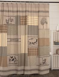Sawyer Mill Charcoal Stenciled Patchwork Shower Curtain 72x72 Best Home Fashion Thermal Insulated Blackout Curtains Back Tab Rod Pocket Beige 52w X 84l Set Of 2 Panels Shop Farmhouse Style Decor Point Valances Pretty Windows Discount Country Window Toppers Top Swags Galore Aurora Mix Match Tulle Sheer With Attached Valance And 4piece Curtain Panel Pair Post Taged Outlet Store Lined Scalloped Custom Treatments Draperies Page 1 Primitive Rustic Quilts Rugs Drapes More From The Lagute Snaphook Truecolor Hookless Shower Gray