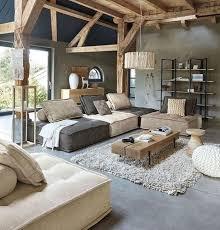 wohnzimmer wohnlandschaft mit vielen accessoires