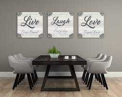 Live Laugh Love Decorations Unique Canvas Art