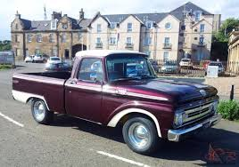Classic Ford F100 Pick Up Trucks, 1964 Ford Truck For Sale | Trucks ... 1966 Ford F100 Ranger Styleside Pickup Pinterest Vintage Truck Stock Photos Images Gambar 1954 Ford Pickup American Classic Old Sixties Pulling Over Photo Edit Now 6787020 F 250 Trucks Accsories And The Old Classic Truck Youtube 10 Pickup You Can Buy For Summerjob Cash Roadkill 1965 Slick 1970 F250 Camper Special360 4 Speed 70s Classic Ford Trucks Black Lively 1979 Bronco F150 4x4 Xlt On