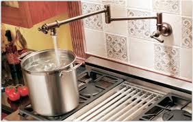 Moen Brantford Kitchen Faucet Oil Rubbed Bronze by Moen S664orb Traditional Pot Filler Two Handle Kitchen Faucet Oil