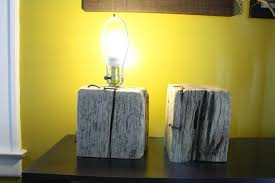 Stunning Creative DIY Wood Lamps Best Images About Diy Driftwood On Pinterest Eclectic Table