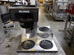 Bunn VP17 3 Commerical Burner Warmer Pot Pourover Coffee Brewer Maker Machine