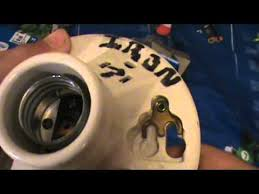 Porcelain Lamp Socket Wiring by 2 Old Leviton Medium Based Light Bulb Ceramic Sockets Youtube