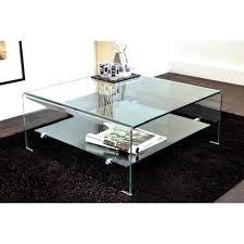 wave table basse carrée en verre plateau achat vente