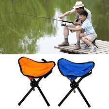 si e pliant tabouret pliant de pêche randonnée portable chaise de poche trépied
