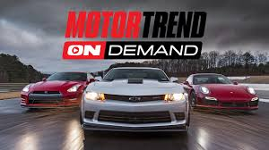 Motor Trend OnDemand! Drive It. Race It. Live It. - YouTube