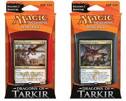 dragons of tarkir intro deck unboxing review by liam casserly