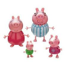 peppa family figures 4 pack