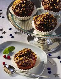 schoko preiselbeer muffins