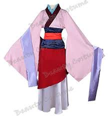 Beauty Costume Chinese Heroine Hua Mulan Dress Halloween Outfit WomanS AMAZON