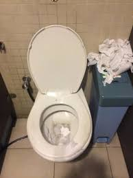 State of toilet at cinema in mid valley Exit from cinema to mall