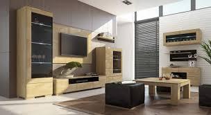 wohnzimmer komplett set k lipik 12 teilig teilmassiv farbe eiche schwarz