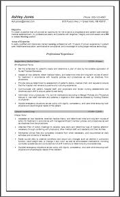 Sample Staff Charge Nurse Experienced Nursing Resume Examples As Cover Letter