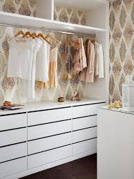 How To Wallpaper Your Closet Gold And White Ikea Hacks Cheap Spring Decor Ideas Decorate Tumblr