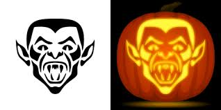 Mickey Mouse Vampire Pumpkin Stencil by Vampire Pumpkin Carving Stencil Free Pdf Pattern To Download And