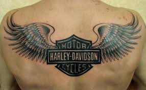 Harley Wings Tattoos Designs