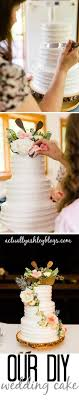 Wedding Planning DIY Rustic Cake