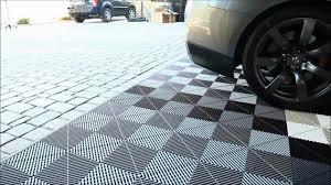 rubberized garage floor tiles tile flooring design