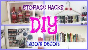 DIY ROOM DECOR STORAGE HACKS