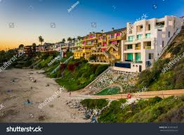 100 Corona Del Mar Apartments Houses On Cliffs Above Stock Photo Edit Now