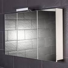 galdem spiegelschrank start100 großer 3d spiegelschrank 100cm 3 türig halogen beleuchtung softclose funktion steckdose badezimmer spiegel auch als