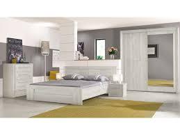 lit 140x190 cm tiroir coloris chêne blanchi vente de lit