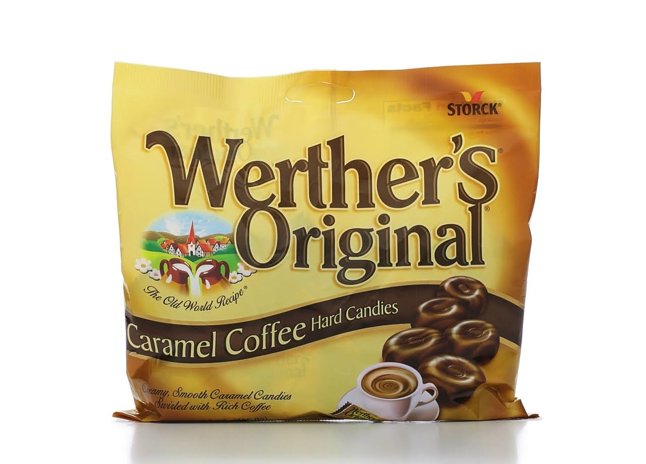 Werther's Original Hard Candies - Caramel Coffee, 5.5oz
