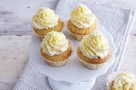 zitronencupcakes mit frischkäse topping