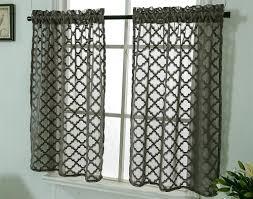 gardinen vorhänge vorhang schals kleinfenster kurz landhausstil vintage transparent scheibengardinen gardinenschals bistrogardine modern küche 2er set