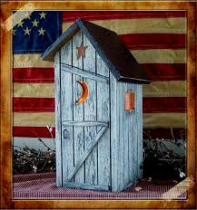 primitive saltbox outhouses lighted country outhouse our lighted