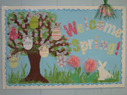 Spring Classroom Door Decorations Pinterest by 10 Easter Bulletin Board Ideas Bulletin Board Easter And Board