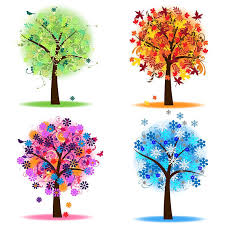 Four Seasons Trees Clipart Clip Art Spring Summer Winter Fall Autumn Clip Art Clipart mercial and Personal