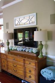 Amazing Decor Around Tv 24 About Remodel Home Decorating Ideas With