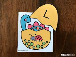 Cut The Dinosaur Egg Cards Out On Gray Dotted Lines Tops Around Black If You Are Going To Laminate Set I Prefer