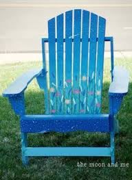 Custom Painted Margaritaville Adirondack Chairs by Tobey Adirondack Chairs Live Auction Come Into My Garden