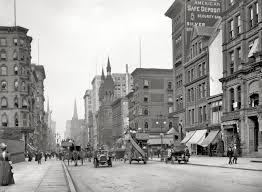 bureau avenue york circa 1912 fifth avenue near 42nd among the