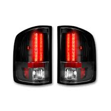 Smoked LED Tail Lights 07-13 GMC SIERRA Truck Parts - 264189BK ... Truck Led Headlight 7 With Park Light Adr Approved Lights Submersible Red 23led Light Bar Stop Turn Tail 3rd Brake Lights Bars Headlights Fog Driving Off Road The Roofmounted Led Is Cab Visors Cousin Drive New Aftermarket Used For Most Medium Heavy Duty Trucks Kelsa High Quality Accsories The Trucking Trucklite 15250y 15 Series Yellow Rectangular Marker Clearance 24v Old Benz Truck Tail Rear Lamp Buy 2 Red 4 Round Trailer Brake With Tailgate Signals Xenonhidscom 2x Amber 3 Fish Shape Side Lamp