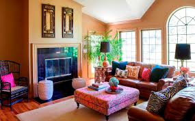 Bohemian Living Room Furniture Design Ideas Top At