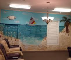 mural favorite wall decals beach scenes startling peel and stick