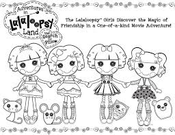 Image Of Lalaloopsy Coloring Pages To Print