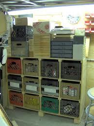 Milk Crate Storage
