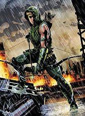 The New 52 Green Arrow On Cover Of Vol 5 17 February 2013 Art By Andrea Sorrentino