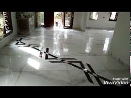 Marble Flooring After Repolish With Italian Bouder Design