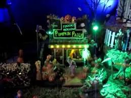 Lemax Halloween Village Displays by Lemax Spooky Town Dept 56 Halloween Village Display 2015 Youtube