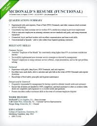 Proficiency Resume Examples Qualifications For