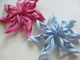 Here Are Some Finished Paper Starburst Decorations
