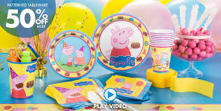 peppa pig party supplies peppa pig birthday party city canada