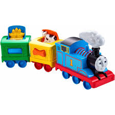 Thomas The Train Tidmouth Sheds Playset by My First Thomas U0026 Friends Rail Rollers Spiral Station Walmart Com