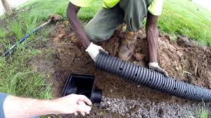 2 Perforated Drain Tile by Do It Yourself The French Drain Everything You Need And Where To